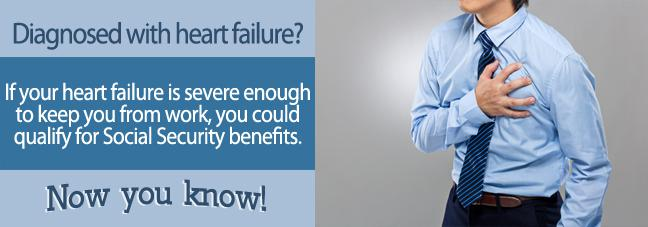 Qualifying for Social Security with heart failure