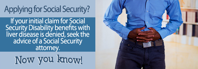 If your liver disease is too disabling to work, you may qualify for Social Security disability benefits.